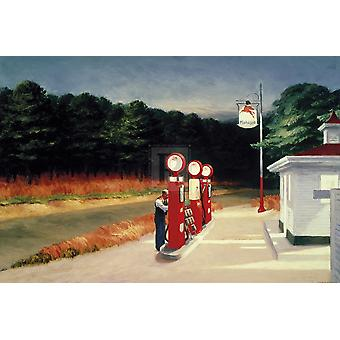 Gas 1940 Poster Print by Edward Hopper (36 x 24)