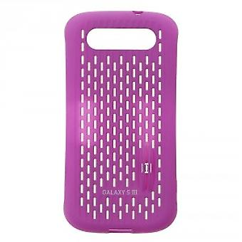Laget for Samsung vent beskyttende coveret for Samsung Galaxy S3-violet