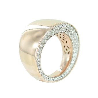 Esprit Collection Damen Ring Silber Rosé Zirkonia Ennea Gr.18 ELRG92441B180