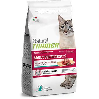 Trainer Natural Adult Esterilised con Jamón Curado (Gatos , Comida , Pienso)