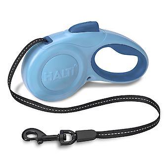 Halti Retractable Tape Lead Blue Small 11kg - 3m