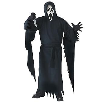 Ghost Face Killer Slasher SCRE4M Horror Deluxe Collector's Edition Men Costume