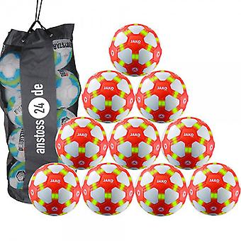 10 x James youth ball - striker includes ball sack