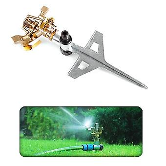 Professional Impulse Metal Spike Garden Sprinkler Hozelock Compatible Sprayer