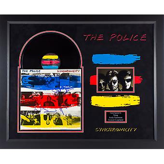 The Police - Synchronicity Signed Album