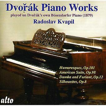A. Dvorak - Dvor K: Piano verk spelas på Dvor KS egen B Sendorfer Piano [CD] USA import
