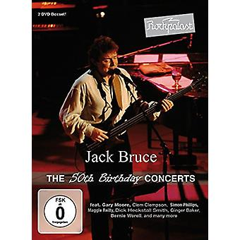 Jack Bruce - Rockpalast: importación de USA de cumpleaños conciertos [DVD] 50