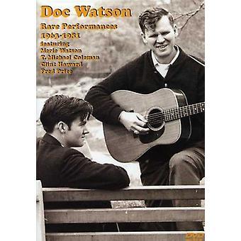 Doc Watson - sjældne forestillinger 1963-1981 [DVD] USA importerer