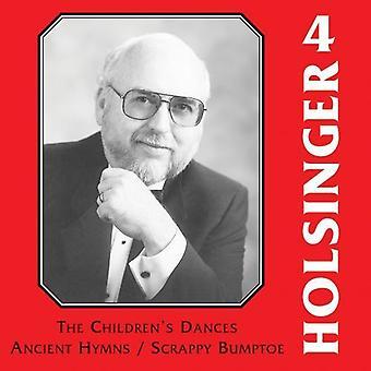David R. Holsinger - The Symphonic Wind Music of David R. Holsinger, Vol. 4 [CD] USA import