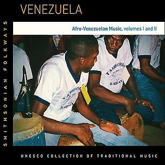Forskellige kunstner - Venezuela: Afro-Venezualan musik vol. 1 & 2 [CD] USA importerer