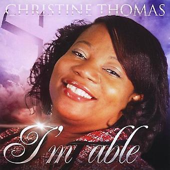 Christine Thomas - jeg stand [DVD] USA import