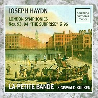 J. Haydn - Joseph Haydn: London Symphonies Nos. 93, 94 the Surprise & 95 [CD] USA import