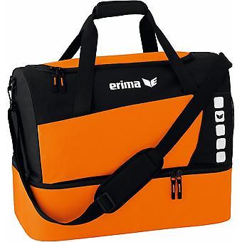 Erima Sporttasche Club 5 mit Bodenfach Orange - 723364