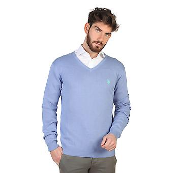 U.S. Polo Sweaters Blue Men