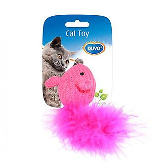 Duvo+ Cat toy mouse with Lana 10 x 6 x 4 Cm (Cats , Toys , Mice)