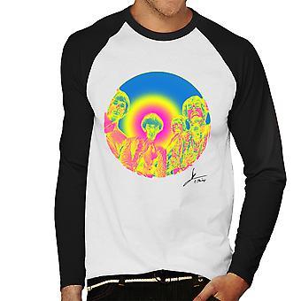 Pink Floyd Ruskin Park Shoot infrarood 1967 zwarte mannen honkbal lange mouwen T-Shirt