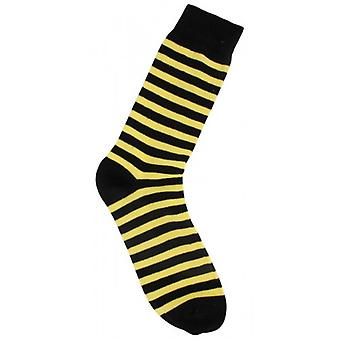 MySocks Stripe Socks - Yellow/Black