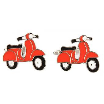 David Van Hagen Scooter Cufflinks - Red
