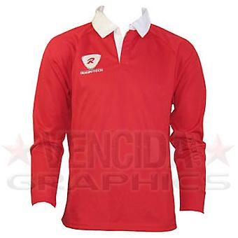 RUGBYTECH Kids Clubwear L/S Jersey [Red]
