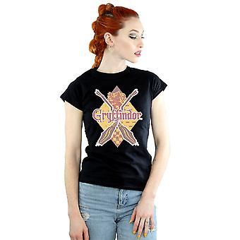Harry Potter kobiet Gryffindor romb T-Shirt