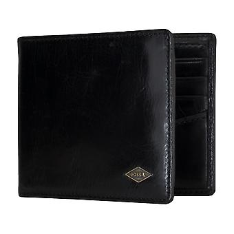 FOSSIL men's purse wallet purse with RFID-chip protection black 5158
