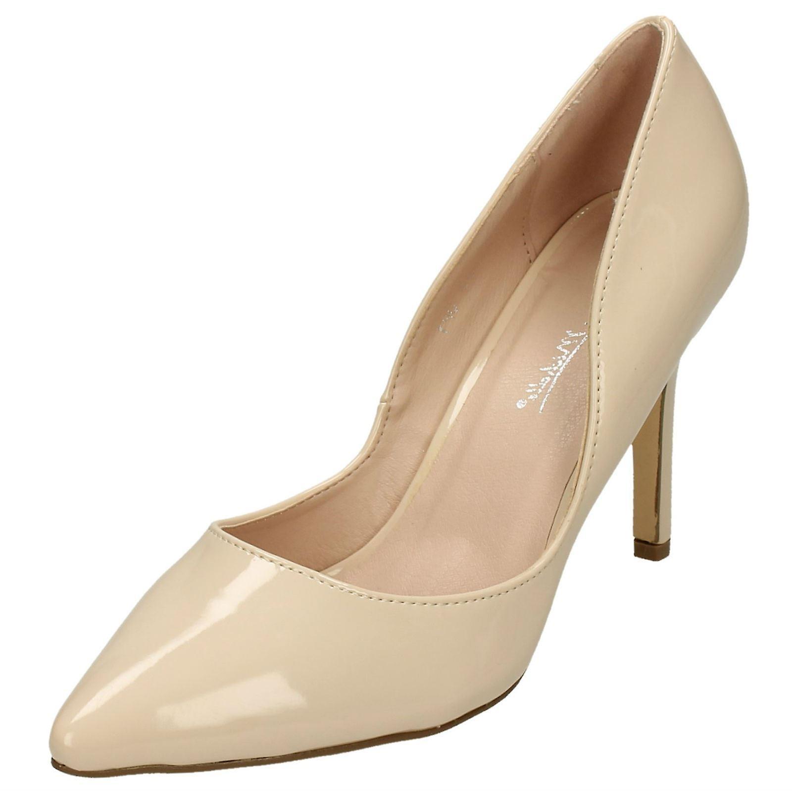 Damen Anne Michelle wies Spitze Gericht Schuhe F9999