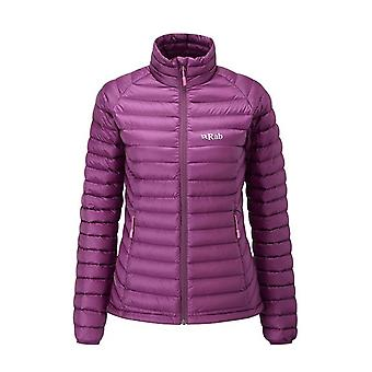 Rab Womens Microlight Jacket Berry (Size UK 8)