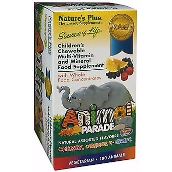 Natures Plus Animal Parade Assorted 180 (UK)