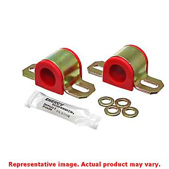 Energy Suspension Sway Bar Bushing Set 9.5126R Red Front/Rear Fits:HONDA 1994 -