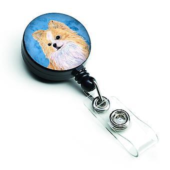 Chihuahua versenkbare Abzeichen Reel oder ID-Halter mit Clip SS4750