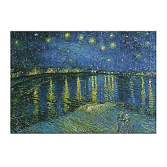 Starry Night over the Rhone c1888 Poster Print by Vincent Van Gogh (20 x 16)