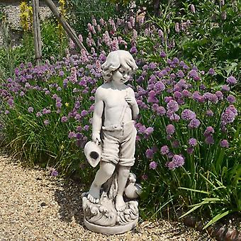 Solstice Sculptures Michael Antique Stone Effect Statue