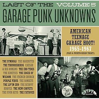 Forskellige kunstner - sidste af Garage Punk ubekendte 5 [Vinyl] USA importen