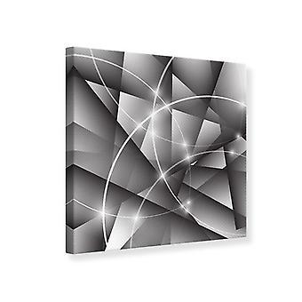Lærred Print geometri