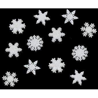 Dress It Up Holiday Embellishments Glitter Snowflakes Diuhlday 1445
