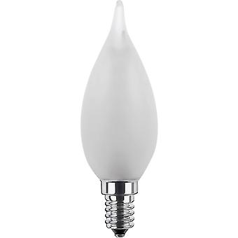 LED E14 Candle angular 2.2 W = 15 W Warm white (Ø x L) 35 mm x 110 mm EEC: A+ Segula dimmable, Filament 1 pc(s)