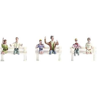 NOCH 15911 H0 FIGURES TRAVELERS WITHOUT BASE