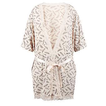 ・ ド ・ フランス 67083-181-018 女性のクリーム モチーフ ガウン入館入浴ローブ着物の男します。