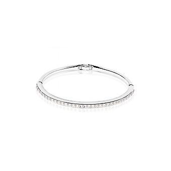 Bracelet white Swarovski Crystal adorned child