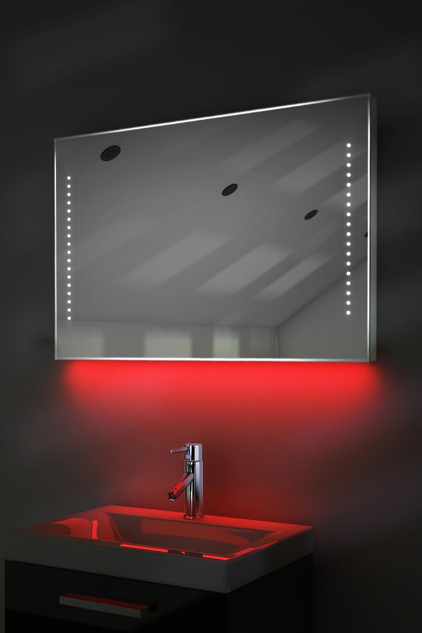 Auto Farbe Änderung Rgb ultraflache Spiegel mit Demister & Sensor K61Rgb
