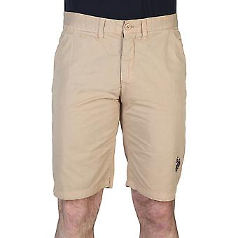 U.S. Polo Men Short Brown