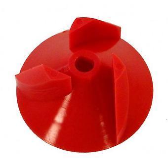Aqua produkter 6027 løbehjul - rød