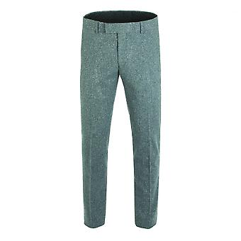 Gibson London Gibson London Gunmetal Grey Tweed Trousers