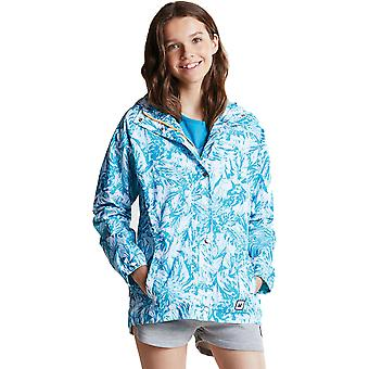 Dare 2b Girls Launder Light Showerproof Water Repellent Coat Jacket