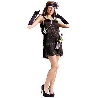 Bootleg Baby Flapper 20s Gangster Jazz Women Costume