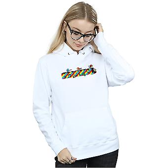 Marvel Women's Kawaii Marvel Stripes Hoodie