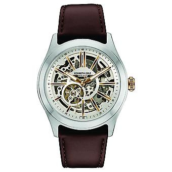 Kenneth Cole New York men's watch automatic leather 10030814