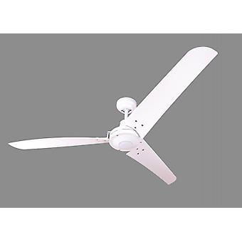 Industrial ceiling fan Vourdries White without control
