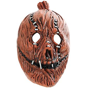 Horror mask pumpkin scary Halloween three quarters mask