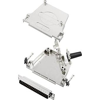 encitech D45ZF37-DMP-K D-SUB pin strip set 45 ° Number of pins: 37 Solder bucket 1 Set